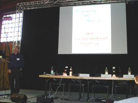 Seth Lloyd lecture at Berlin